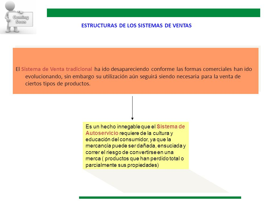 ESTRUCTURAS DE LOS SISTEMAS DE VENTAS