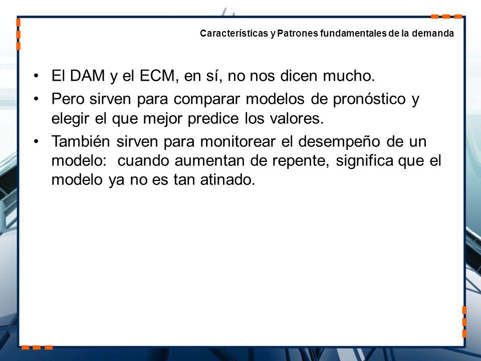 El DAM y el ECM, en sí, no nos dicen mucho.