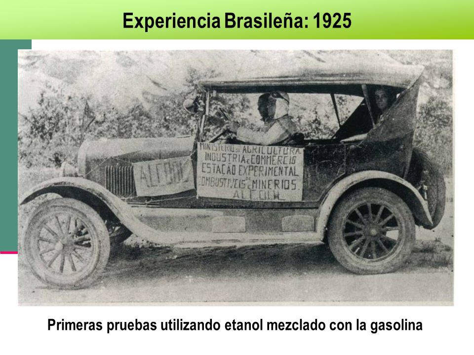 Experiencia Brasileña: 1925