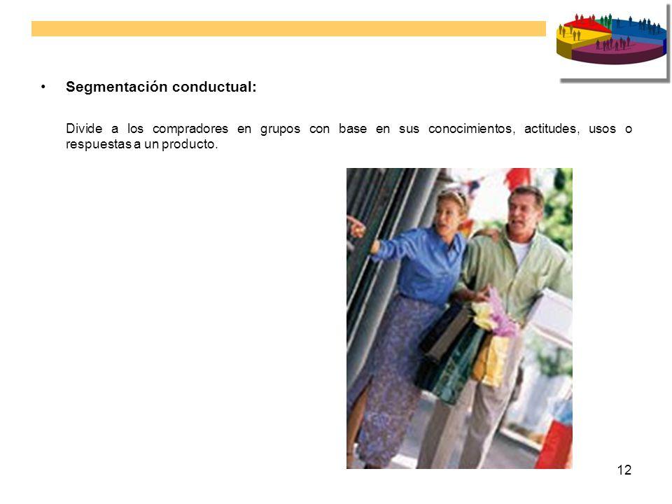 Segmentación conductual:
