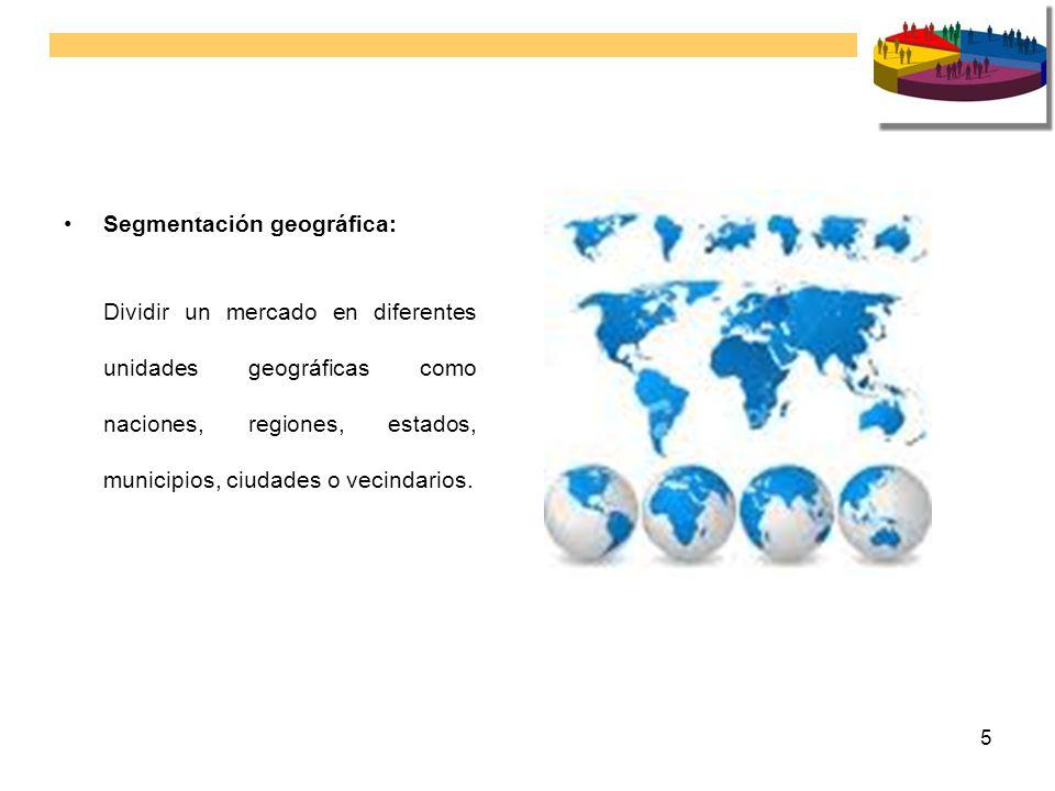Segmentación geográfica: