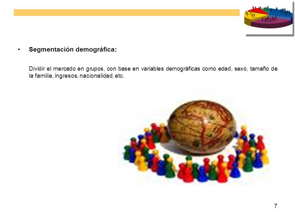 Segmentación demográfica: