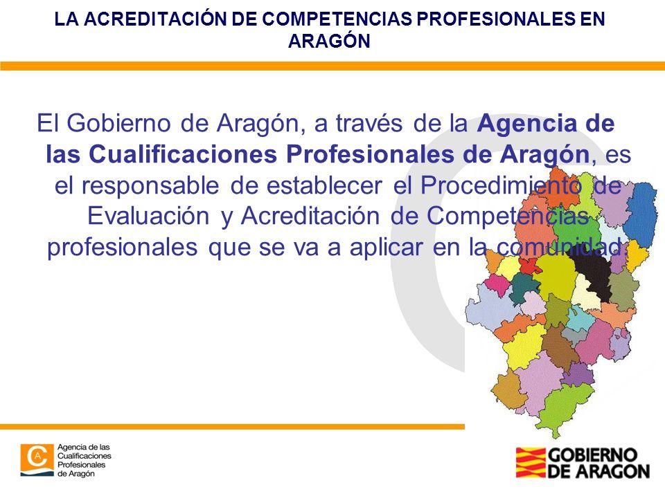 LA ACREDITACIÓN DE COMPETENCIAS PROFESIONALES EN ARAGÓN