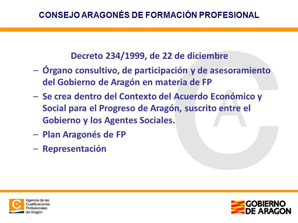 Decreto 234/1999, de 22 de diciembre