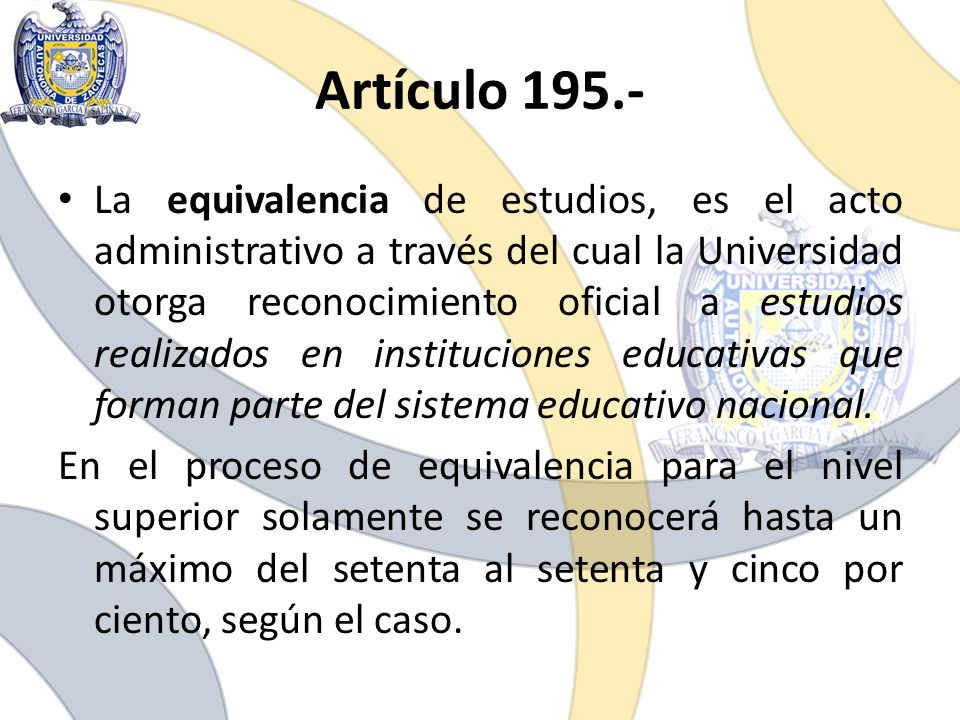 Artículo 195.-