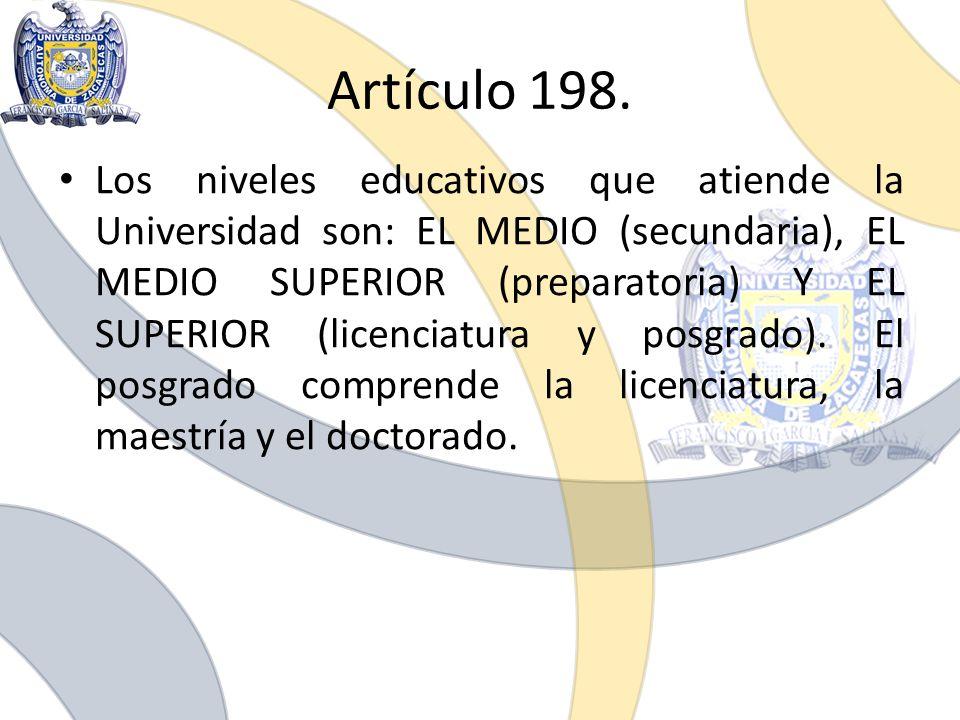 Artículo 198.