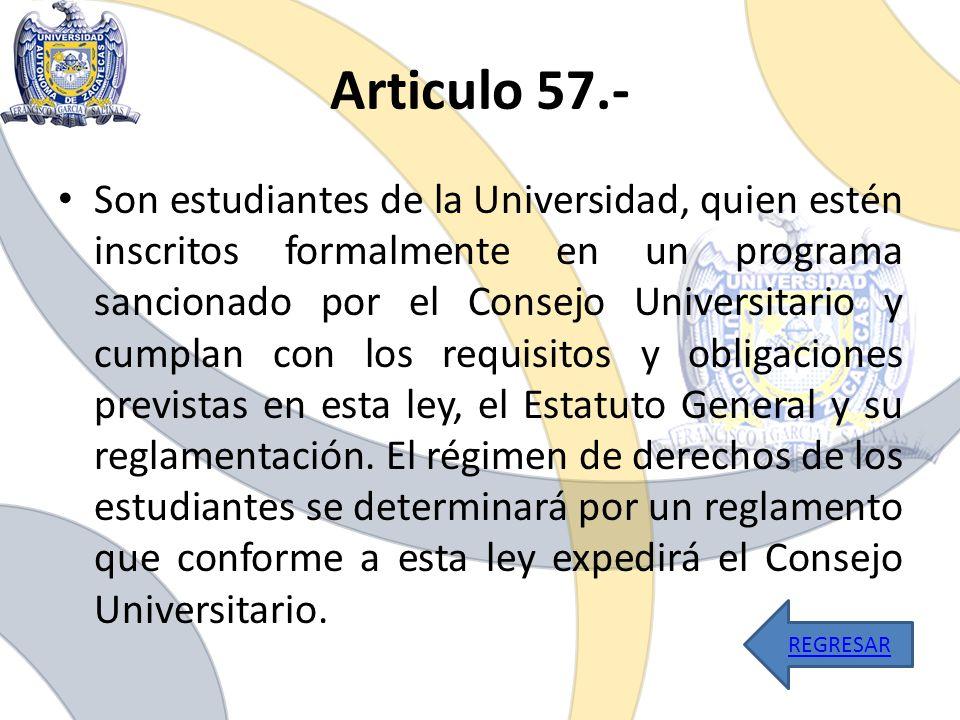 Articulo 57.-