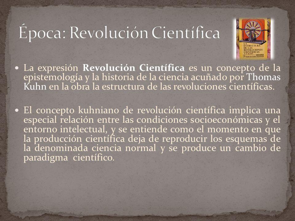 Época: Revolución Científica
