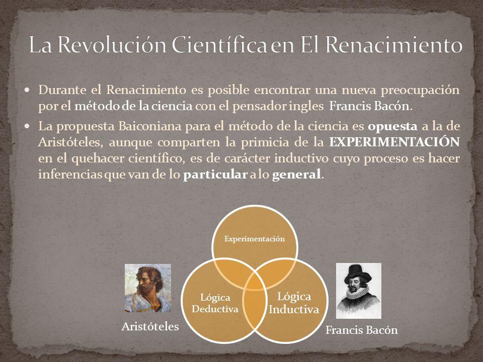 La Revolución Científica en El Renacimiento