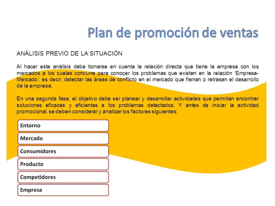 Plan de promoción de ventas