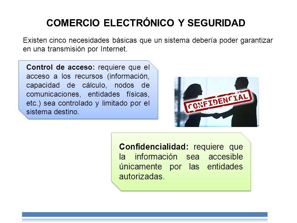 COMERCIO ELECTRÓNICO Y SEGURIDAD
