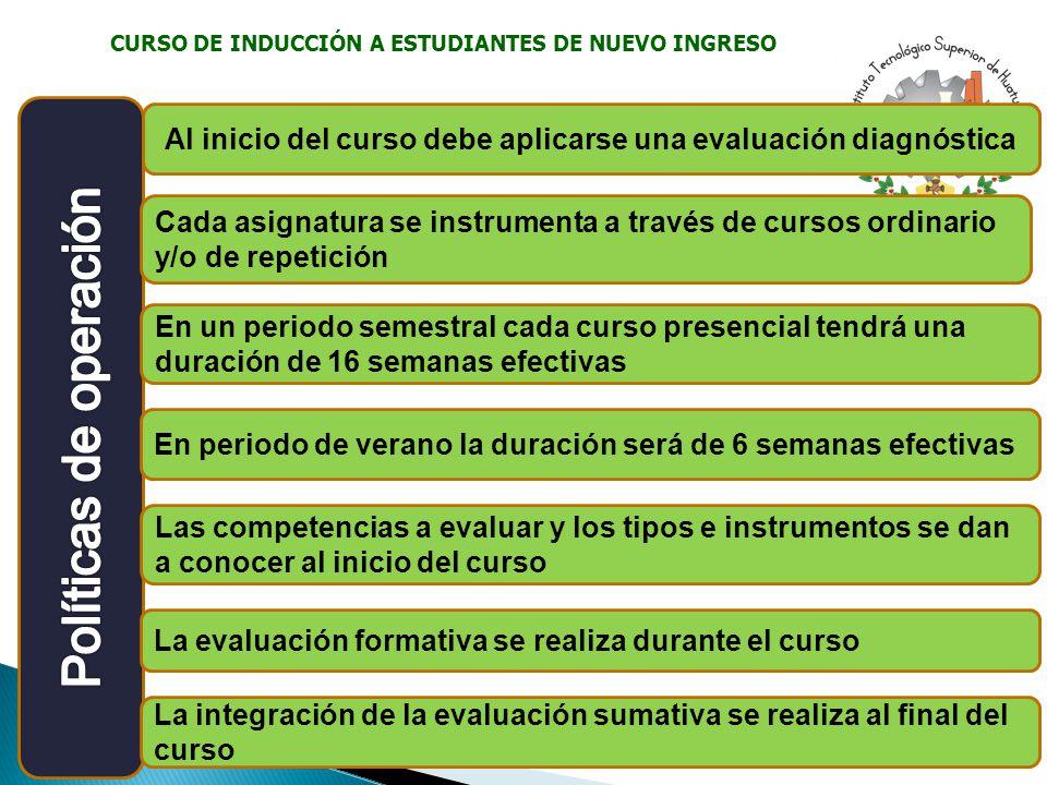 CURSO DE INDUCCIÓN A ESTUDIANTES DE NUEVO INGRESO