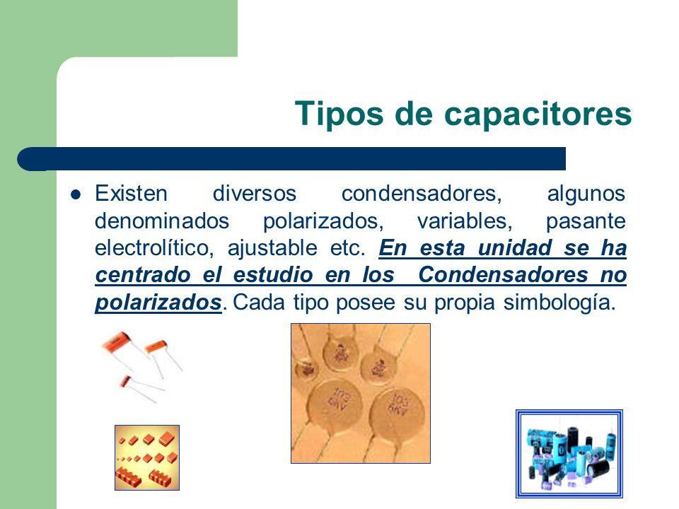 Tipos de capacitores