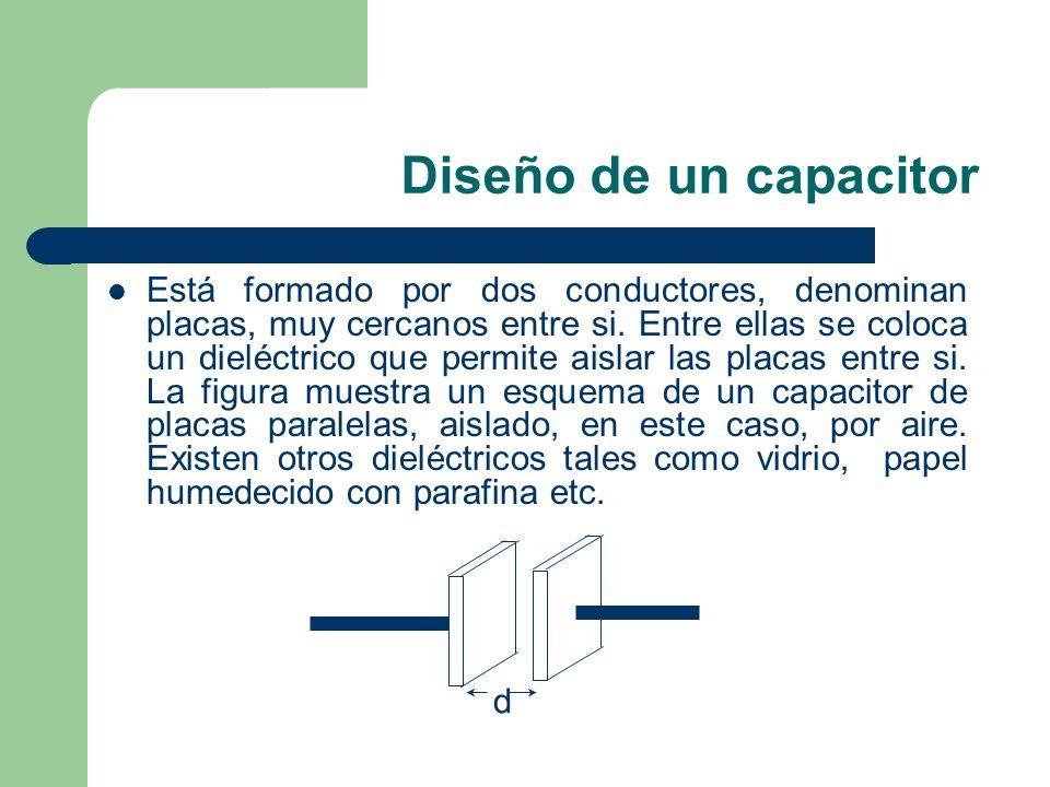 Diseño de un capacitor