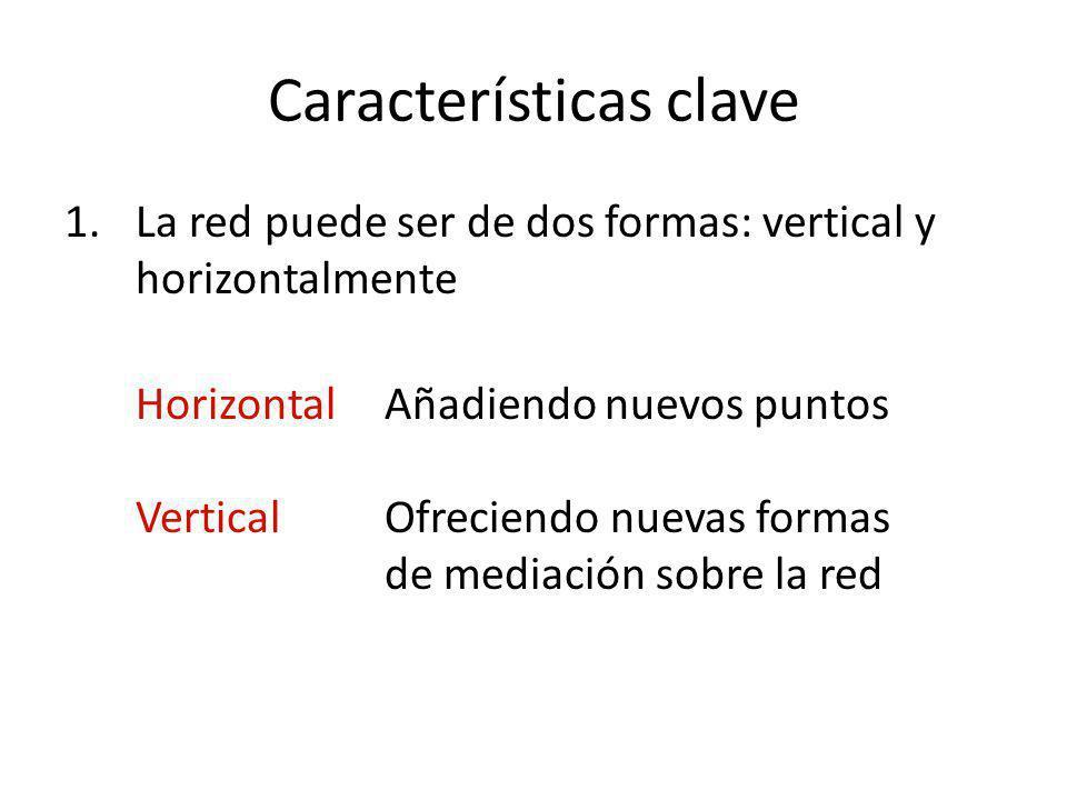 Características clave