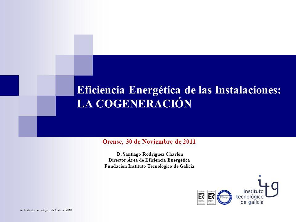 Eficiencia Energética de las Instalaciones: LA COGENERACIÓN