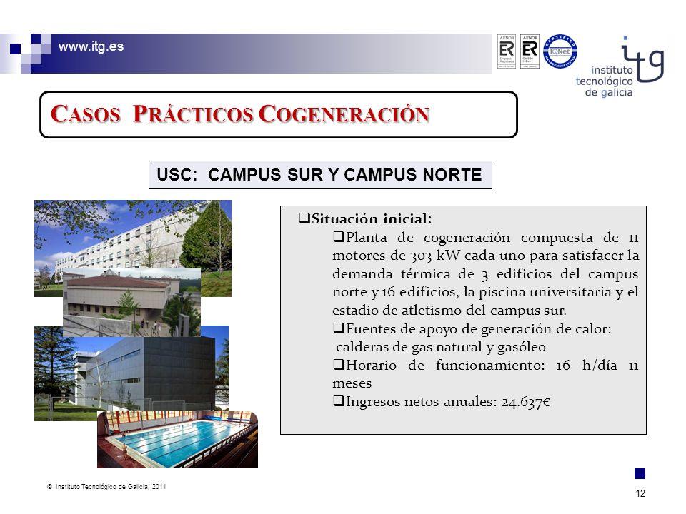 USC: CAMPUS SUR Y CAMPUS NORTE