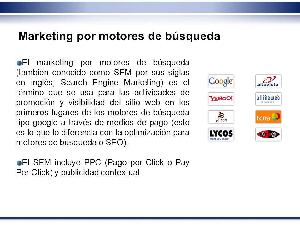 Marketing por motores de búsqueda