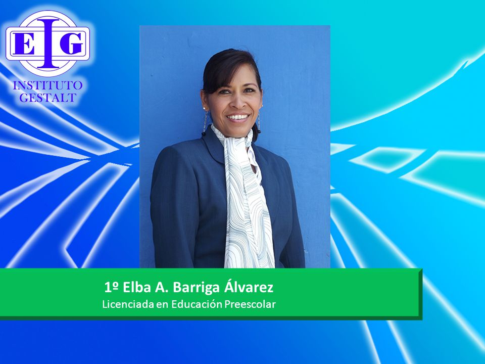 1º Elba A. Barriga Álvarez