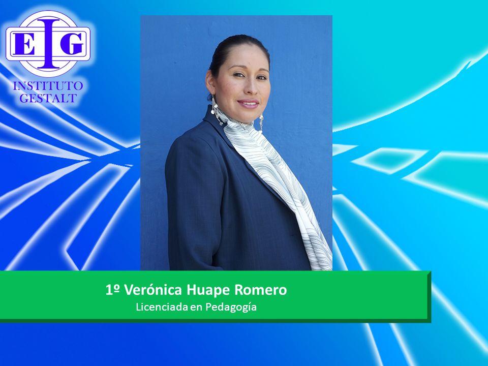1º Verónica Huape Romero