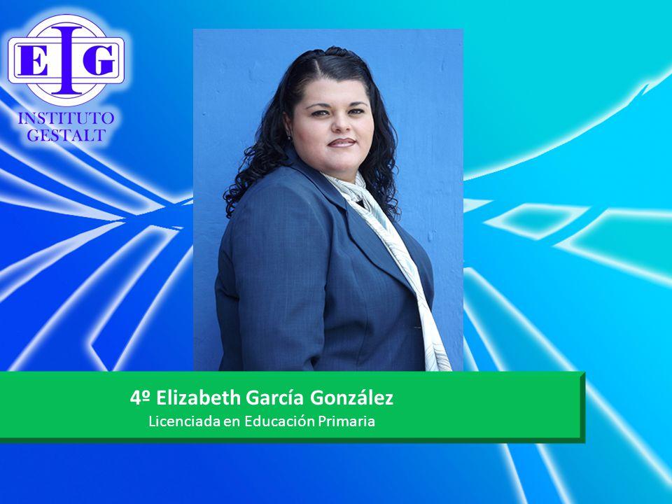 4º Elizabeth García González