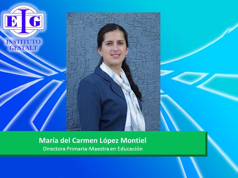 María del Carmen López Montiel