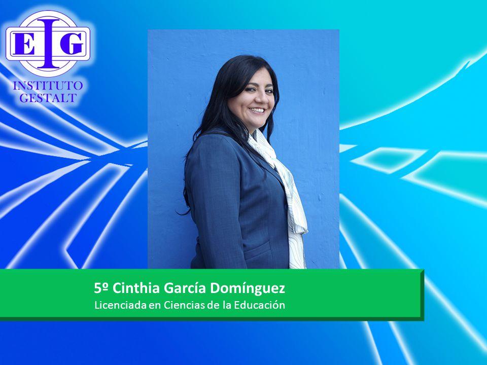 5º Cinthia García Domínguez