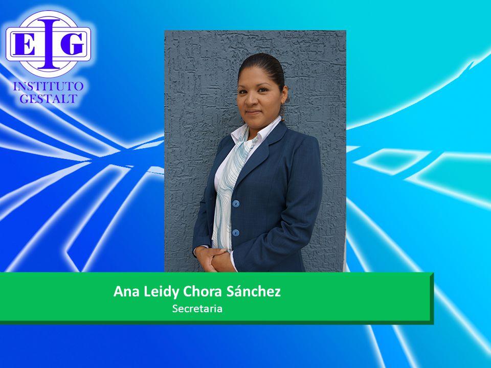 Ana Leidy Chora Sánchez