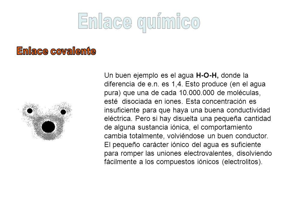 Enlace químico Enlace covalente