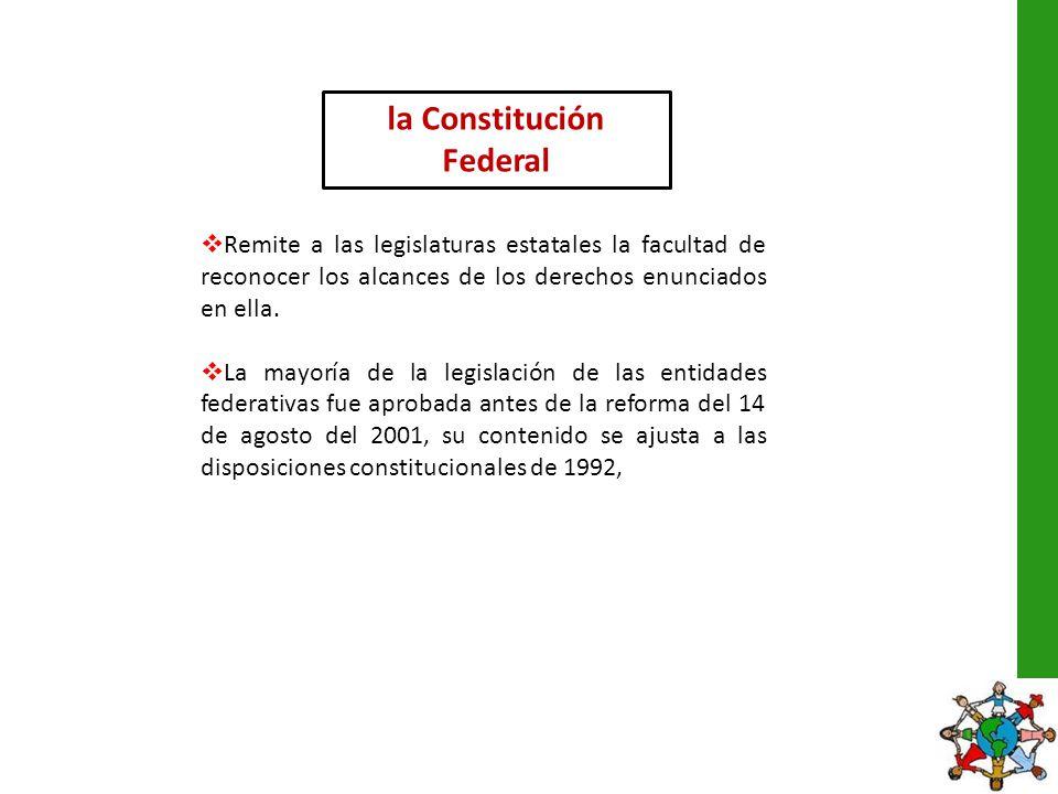 la Constitución Federal
