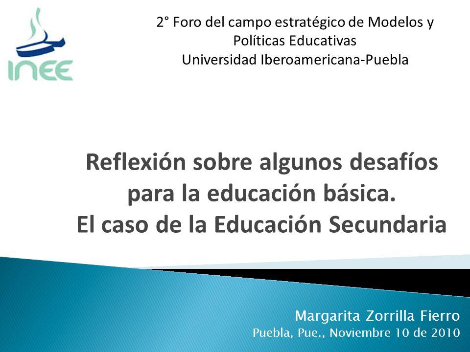 Margarita Zorrilla Fierro Puebla, Pue., Noviembre 10 de 2010