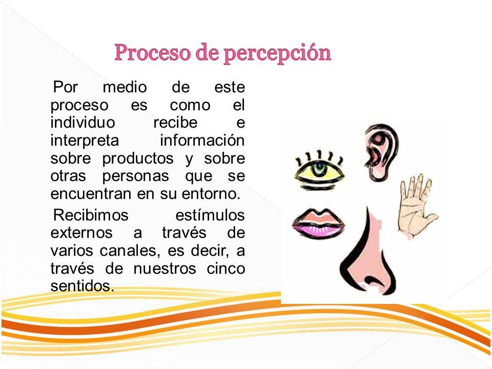 Proceso de percepción