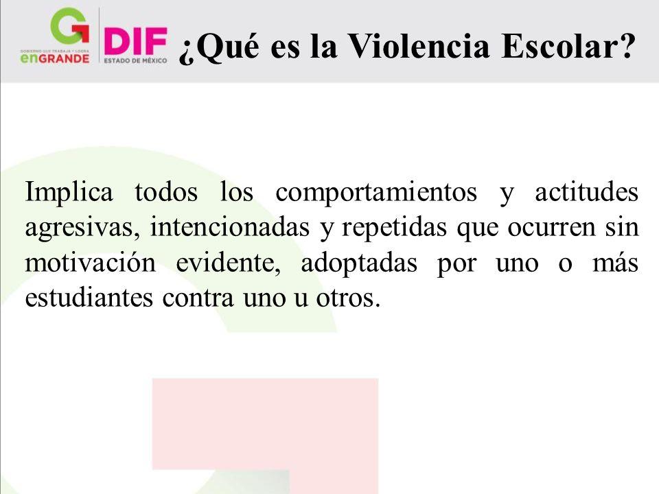 ¿Qué es la Violencia Escolar