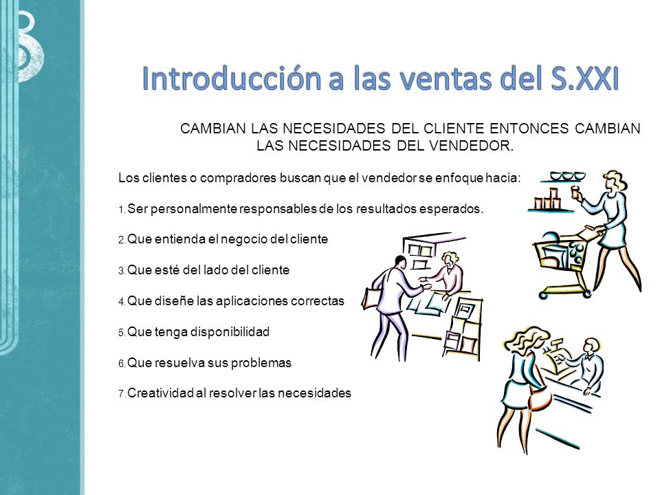 Introducción a las ventas del S.XXI