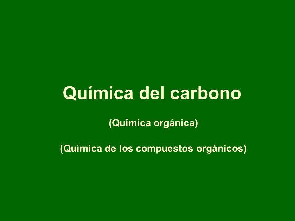 Química del carbono (Química orgánica)