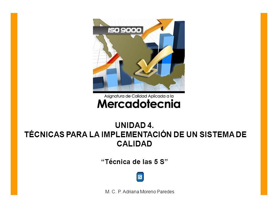 TÉCNICAS PARA LA IMPLEMENTACIÓN DE UN SISTEMA DE CALIDAD