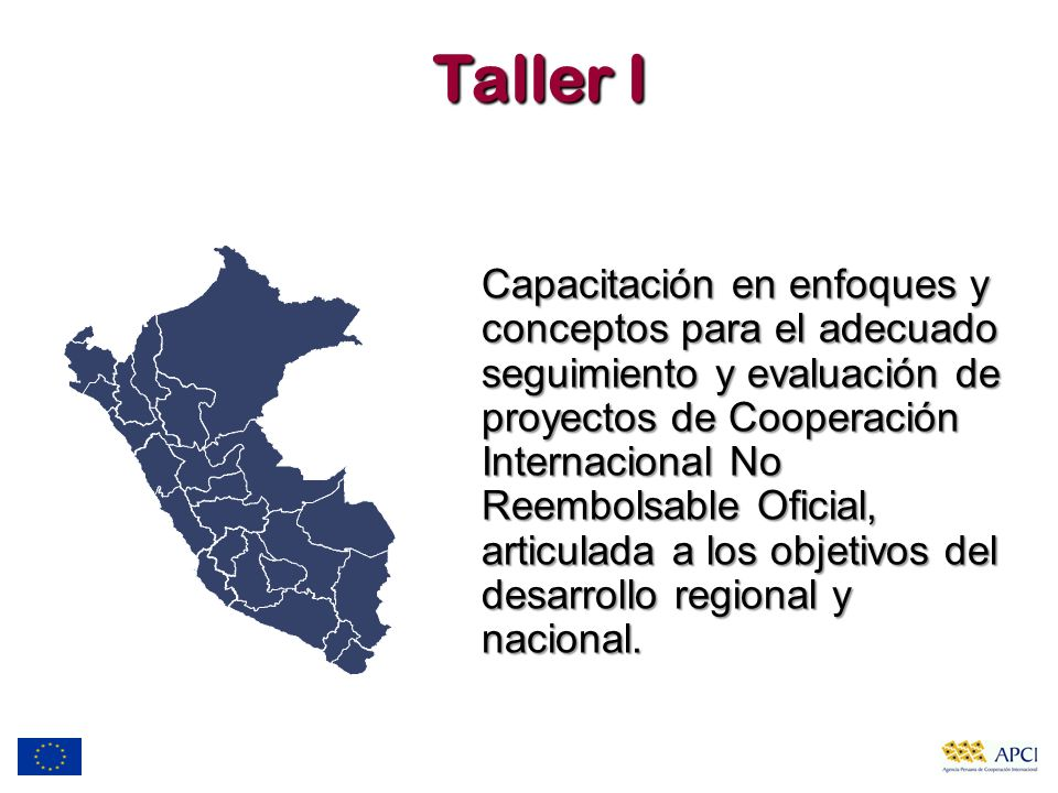 Taller I
