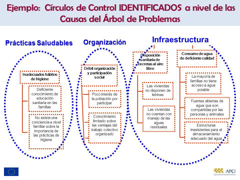 Infraestructura Organización Prácticas Saludables