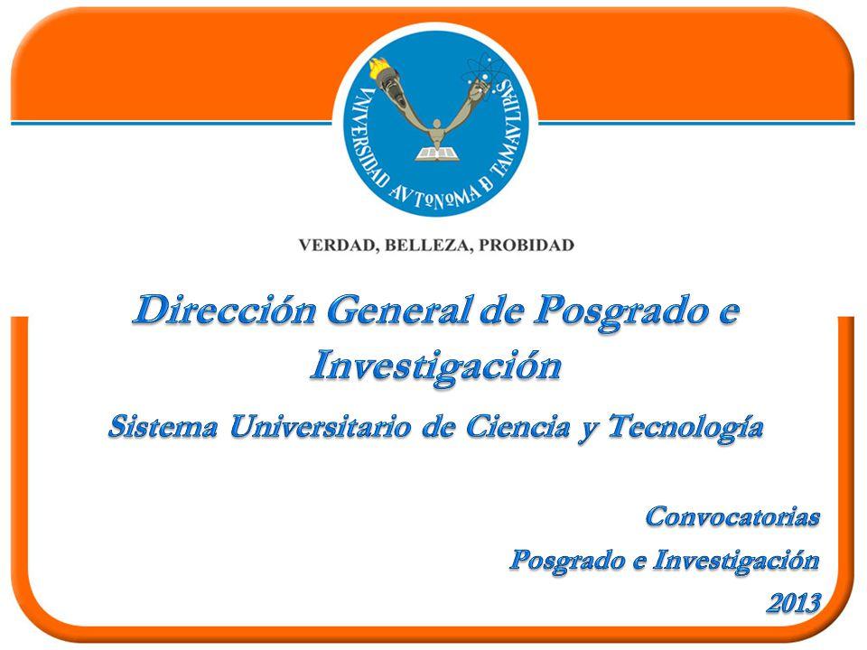 Dirección General de Posgrado e Investigación