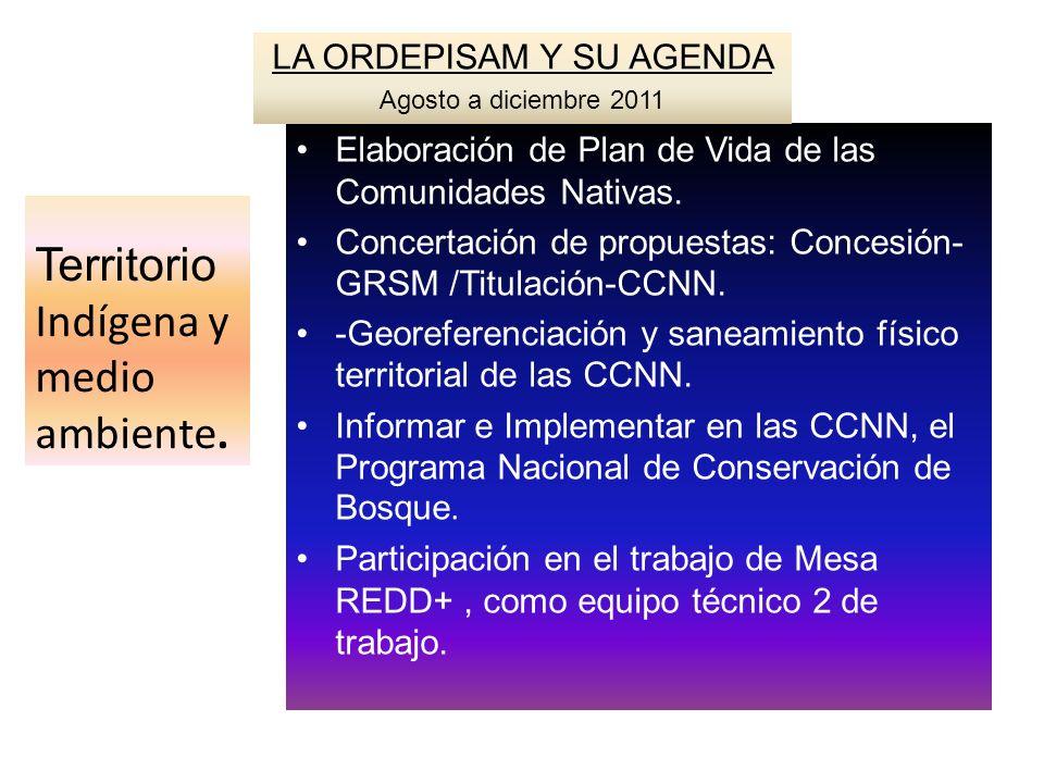Territorio Indígena y medio ambiente.