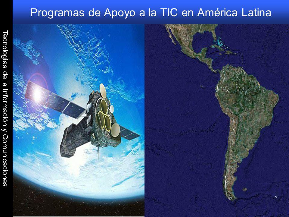 Programas de Apoyo a la TIC en América Latina