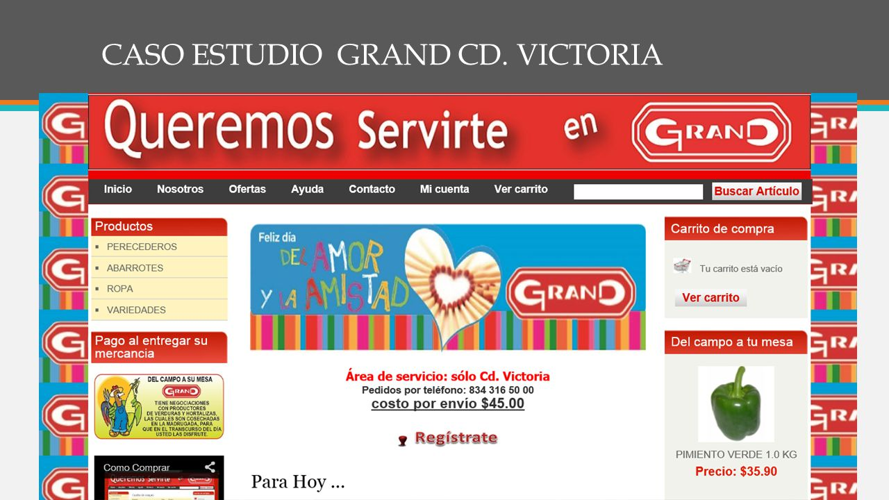 CASO ESTUDIO GRAND CD. VICTORIA