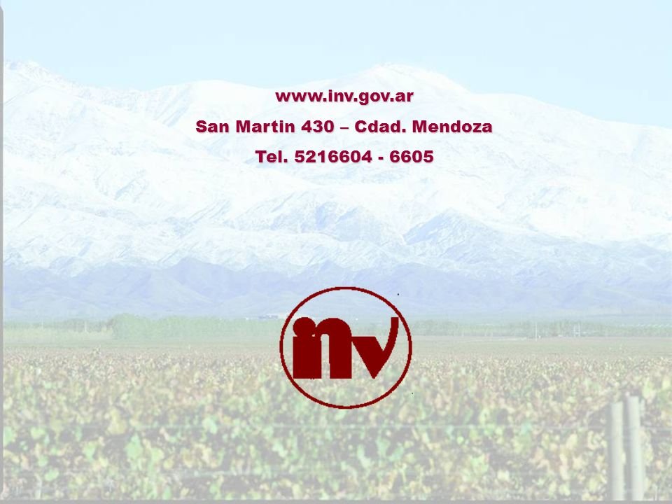 San Martin 430 – Cdad. Mendoza