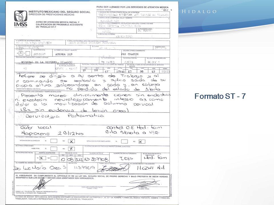 Formato ST - 7