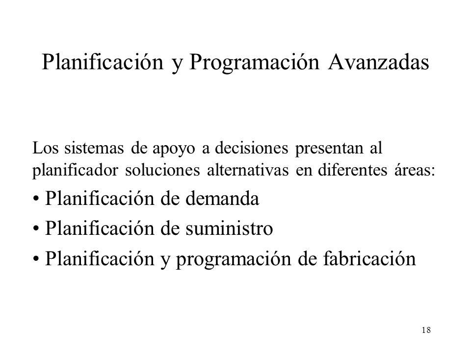 Planificación y Programación Avanzadas