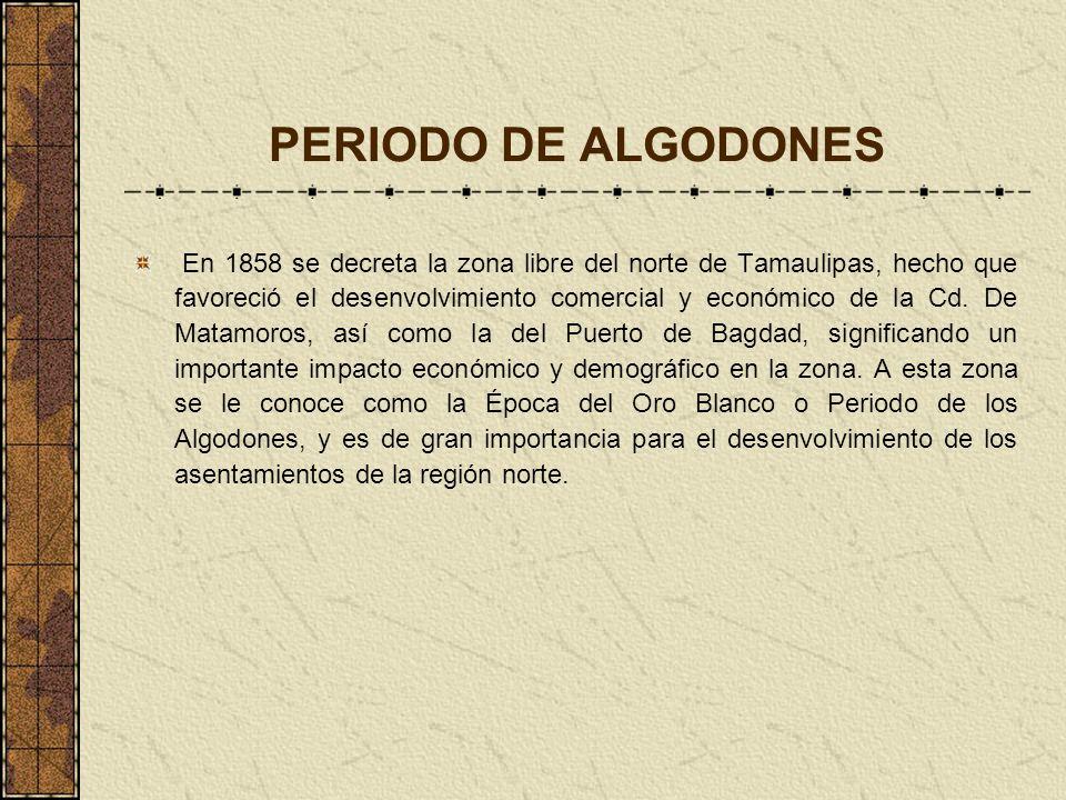 PERIODO DE ALGODONES