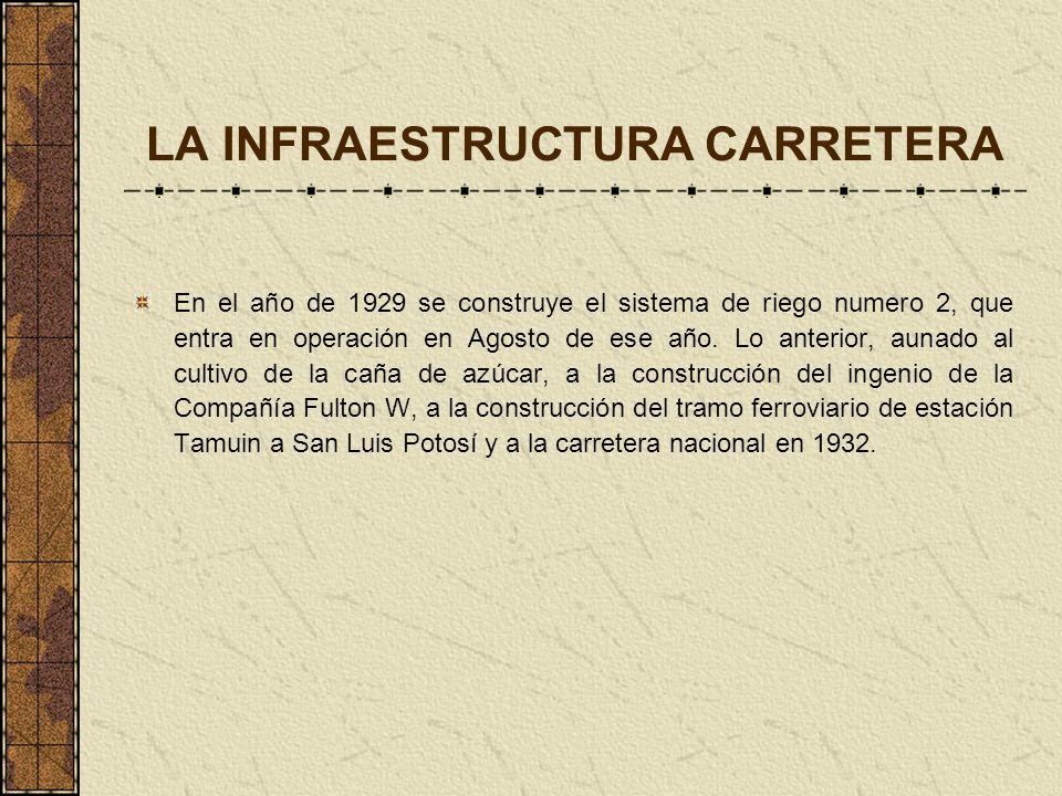 LA INFRAESTRUCTURA CARRETERA