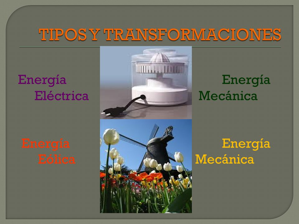 TIPOS Y TRANSFORMACIONES