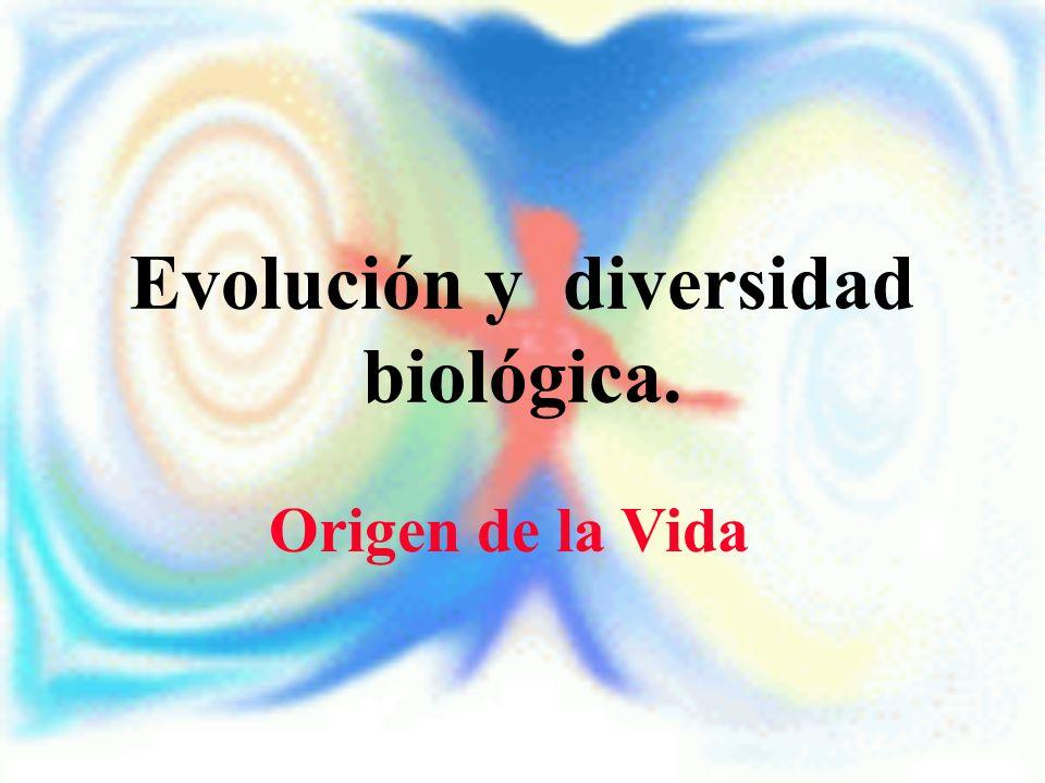 Evolución y diversidad biológica.
