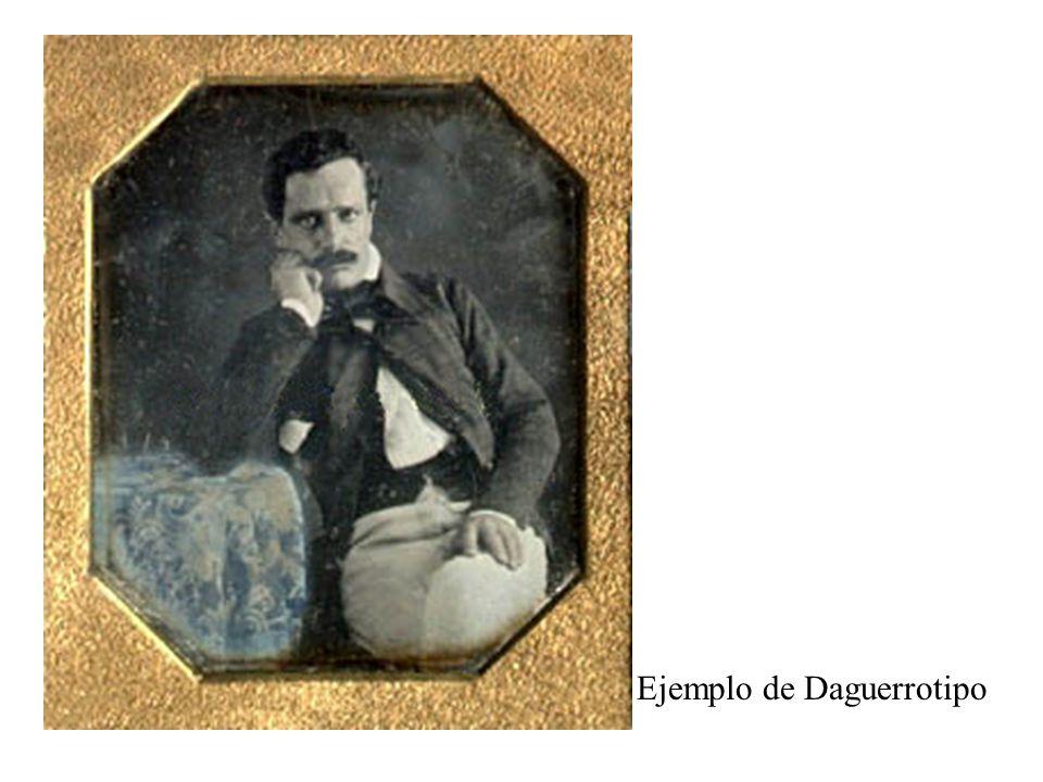 Ejemplo de Daguerrotipo